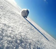 snowball rolling 1